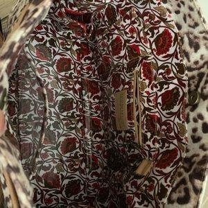 Gigi Hill Bags - Gigi Hill Tote leopard print